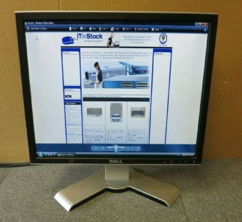 "Dell UltraSharp 0PM866 1908FPB 19"" LCD TFT  Flat Screen Monitor 4xUSB VGA DVI"